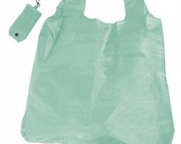 Aqua Foldable Shopper With Clip code 35405
