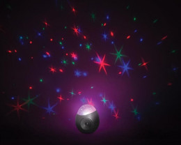 Colourful Galaxy Star Projector Sound Machine       code SA99B