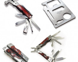 Handy tools Box of 3 Multi Tool       codes 88029/88043/88036