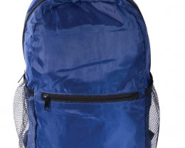 Navy Blue  Port-A-Pack Foldable Backpack      code 35400