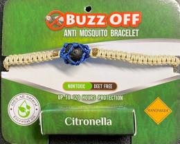 Free shipping Insect Repellent Citronella in lava Stone Bracelet Neutral w