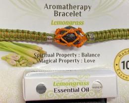 Aromatherapy Bracelet, Lemon Grass  code BRAROMA