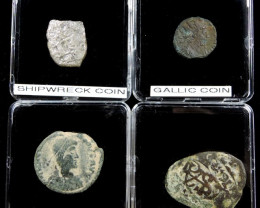 SHIPWRECK & ANCIENT COIN TREASURES 17-150 (SAT)