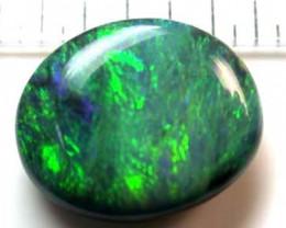 9.30 Cts    Australian Green Fire  Black Opal  SS1556