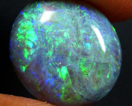 3.50 Cts    Australian  Black Opal  SS1818