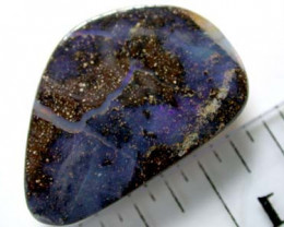 13.4 Cts    Australian Boulder Opal  SS1330