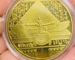 Replica Nefertiti Ancient Egyptian   Gold plated