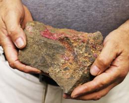 1.147 kilo  Moroccan Cobalt Specimen  MM28