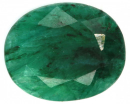 6.47 CTS   EMERALD COLOUR GLASS CABS   RJA-1417