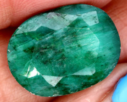 6.83 CTS   EMERALD COLOUR GLASS CABS   RJA-1418