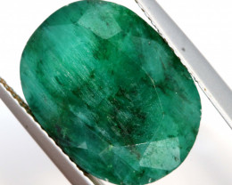 9.80 CTS   EMERALD COLOUR GLASS CABS   RJA-1420