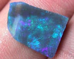 3 Cts    Australian Rough  Black Opal  W745