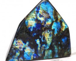 2.69Kg Natural Labradorite Polished Self Stand DS351