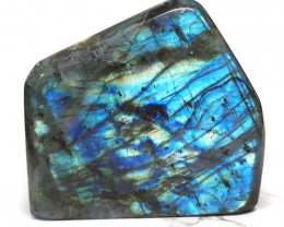 1.61Kg Natural Labradorite Polished Self Stand DS353