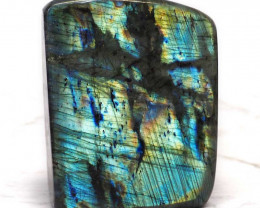 1.23Kg Natural Labradorite Polished Self Stand DS355