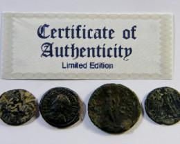 TREASURE SERIES OF ANCIENT ROMAN COINS 4-500 (ARC)
