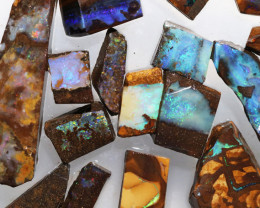 Boulder Rough Opal Slabbed by miner code Ch 701