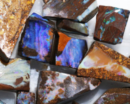 Boulder Rough Opal Slabbed by miner code Ch 704