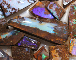 Boulder Rough Opal Slabbed by miner code Ch 705
