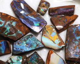 328 Cts Boulder Rough Opal Slabbed by miner code Ch 708