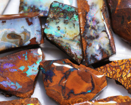 773Cts Boulder Rough Opal Slabbed by miner code Ch 718