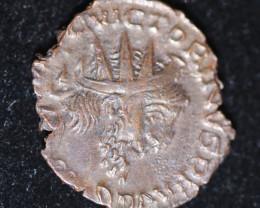 Ancient Roman Gallic Antonioni   coin  CP 622
