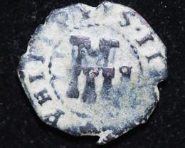 Parcel Maravedis Cob 16-17th Cent Philip II, III, IV AC419   CP 645