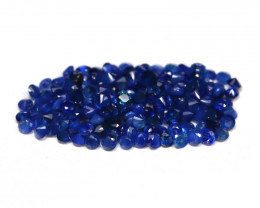 1.71 cts   Natural Vivid Blue Sapphire  Parcel 1.1 mm code CCC 308