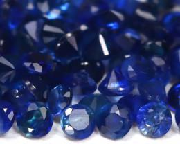 1.58 cts   Natural Vivid Sapphire  Parcel 1.5 mm code CCC 309