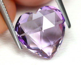 2.94 cts   Natural Heart Amethyst   code CCC 328