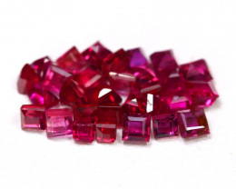1.50 Cts Natural Burmese Ruby Parcel 2.0mm  code CCC 346
