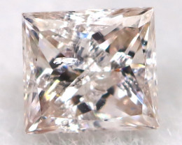 0.10 Cts Natural Peach Pink Diamond  code CCC 358