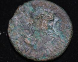 330 AD + Roman Byzantine large Bronze Follis Coin. code CP 656