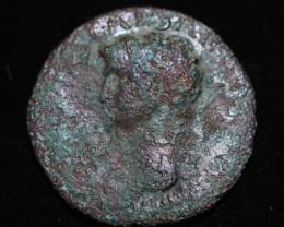 330 AD + Roman Byzantine large Bronze Follis Coin. code CP 659