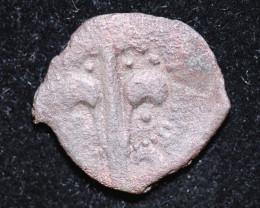 330 AD + Roman Byzantine large Bronze Follis Coin. code CP 650