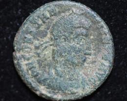 Ancient Roman  Byzantine Bronze   AE Coin   CP 664
