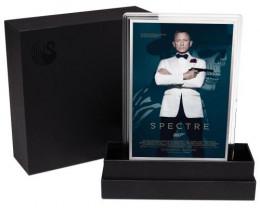 Movie Poster James Bond-Spectre -5G Silver foil