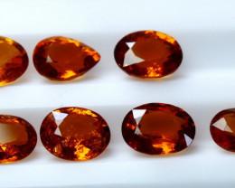 3.9 Cts Parcel of 7 Orange Garnet  CCC 372
