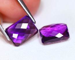 3.29  Cts Parcel of Purple Amethyst  CCC 371