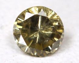 0.12 Ct Gray Green Diamond  CCC 409