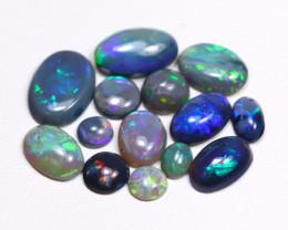 5.54 Cts  Parcel of 14  Australian  Black Opal  CCC 430