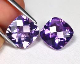5.22 Cts Pixalated Purple Amethyst  CCC 521
