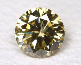 0.14ct Fancy Yellow Diamond  CCC 532