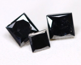 1.14 Ct Brilliant Black Diamond  CCC 537