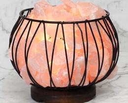 Rose Quartz Rough Amore Lamp