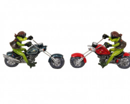 Treasure Box of Biker Frogs on Custom Ride 2pcs  code FROGBIKE