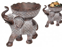 Treasure Box of Elephant Bowl Syncophated Finish  code ELESYNBO