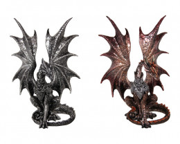 Gold and Silver Dragons 2pcs  code DRAGPOSE