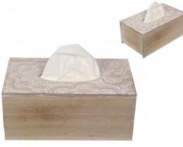 MDF Mandala Tissue Box   code MANWTISS