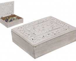 Jewellery Lattice Carved Box  code LATBOX
